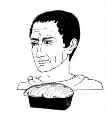 """<h5>Ilustracja do książki """"Całuski pani Darling"""". Rozdział: """"Chlebek juliański"""".</h5>"""