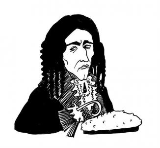 """<h5>Ilustracja do książki """"Całuski pani Darling"""". Rozdział: """"Ciasto kapitana Haka"""".</h5>"""