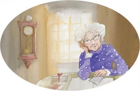 """<h5>Ilustracja do książki Emilii Kiereś """"Srebrny dzwoneczek"""".</h5>"""