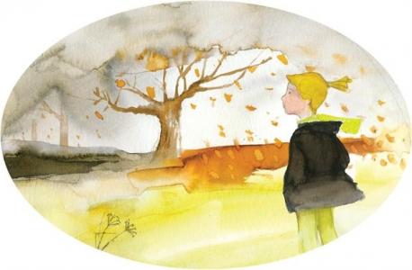 <h5>ilustracja do książki Emilii Kiereś &quot;Srebrny dzwoneczek&quot;</h5>