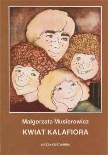 """<h5>""""Kwiat kalafiora"""" - okładka I wydania, 1981</h5>"""
