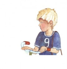 <h5>ilustracja do książki &quot;Światełko&quot;</h5>