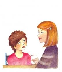 """<h5>ilustracja do książki """"Światełko""""</h5>"""