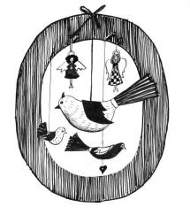 <h5>ilustracja do książki &quot;Na Gwiazdkę&quot;</h5>