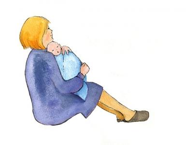 """<h5>ilustracja do książki Emilii Kiereś """"Złota gwiazdka""""</h5>"""