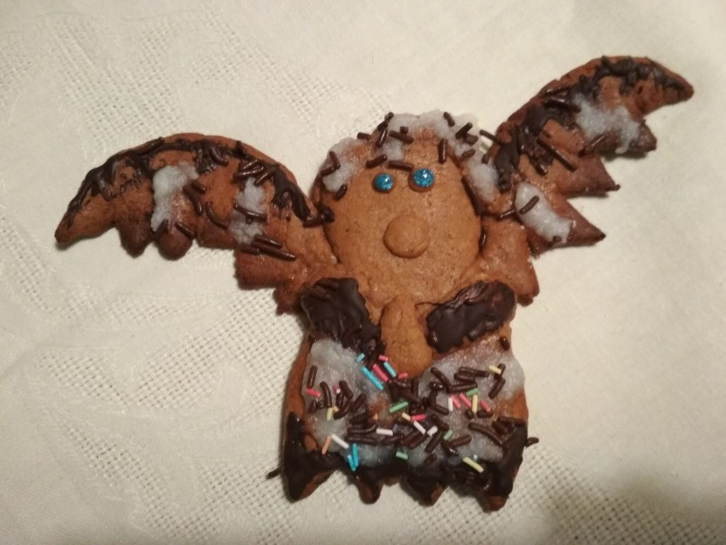 psianka anioł husarz