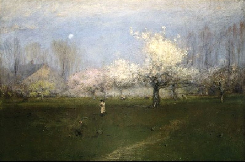 2 George Inness (1825-1894) Spring Blossoms, Montclair, New Jersey