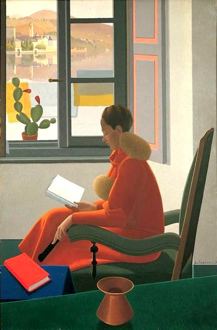 Calderara, Antonio - La finestra il libro, 1935