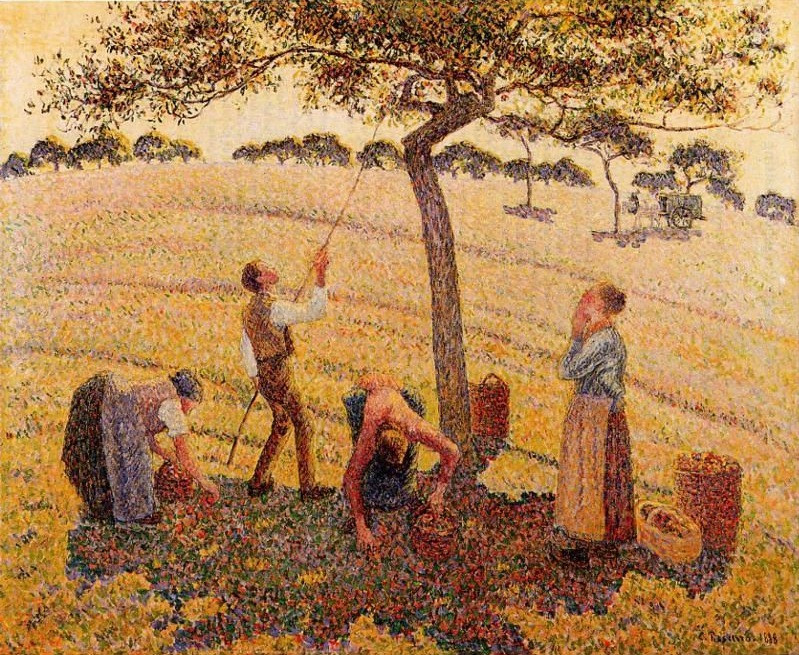 Pissaro-Apple-Picking-1888