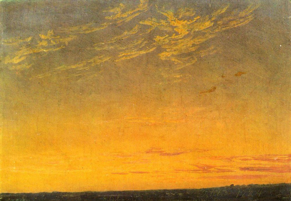 Caspar_David_Friedrich_-_Abend_(1824)
